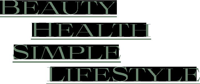 Beauty,Health,Simple,LifeStyle